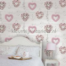 wallcovering hearts