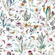 Cactus oase tapet Dutch Wallcoverings Vintage Gamle