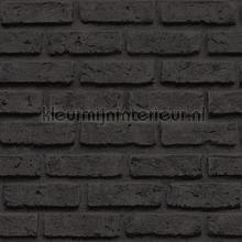 Bakstenen met diepe voeg tapet Dutch Wallcoverings Collected 12361