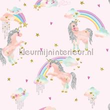 Rainbow Unicorn - Pink tapet Arthouse Imagine Fun 2 696108