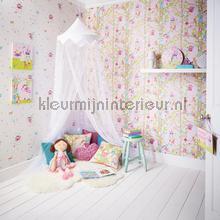 Woodland fairies - white behang Arthouse Baby Peuter
