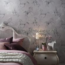 Camarillo - grey behang Arthouse meisjes