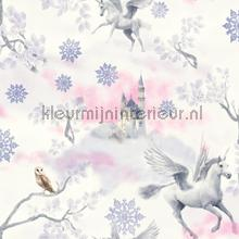 Fairytale - lilac wallcovering Arthouse all-images