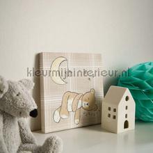 Denim - cream behang Arthouse Baby Peuter
