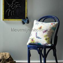 Denim - mint behang Arthouse Baby Peuter