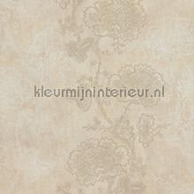 Indiaas verfijnd takkenpatroon papier peint BN Wallcoverings Indian Summer 218564
