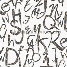 Typography modern style XL rol papel pintado AdaWall adolescente