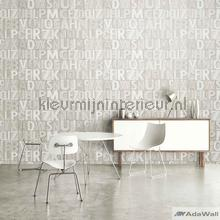 Bold typography modern style XL rol behang AdaWall Modern Abstract