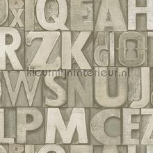 Bold typography modern style XL rol papel de parede AdaWall urbana