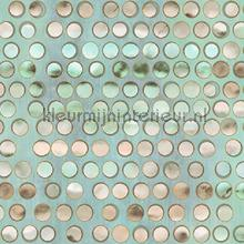 Mother of pearl dots XL rol behang AdaWall Indigo 4706-2