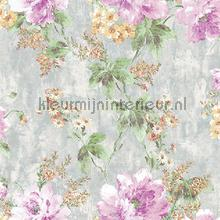 Flower bunch XL roll behang AdaWall Indigo 4708-1