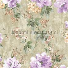 Flower bunch XL roll behang AdaWall Indigo 4708-2