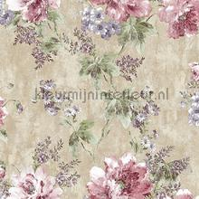 Flower bunch XL roll behang AdaWall Indigo 4708-4