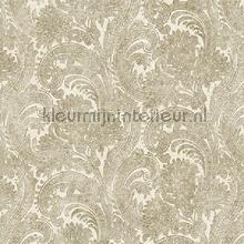 Delicate classic paisley XL roll tapeten AdaWall Indigo 4710-3