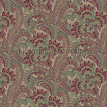 Colorful classic paisley XL roll behang AdaWall Indigo 4711-2