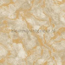 Oxidised metallised marble XL roll behang AdaWall Indigo 4712-2