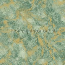 Oxidised metallised marble XL roll behang AdaWall Indigo 4712-3