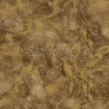 Oxidised metallised marble XL roll behang AdaWall Indigo 4712-5