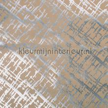 Suedine zilver beige behang Rodeka natuurlijke materialen