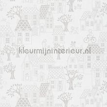 village papier peint Hookedonwalls Jack N Rose By Woodwork ll05038