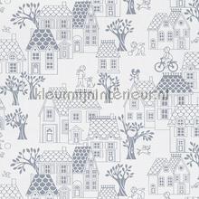 village papier peint Hookedonwalls Jack N Rose By Woodwork ll05074