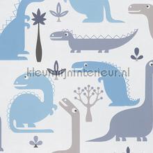Dinosaur tapet Hookedonwalls urban