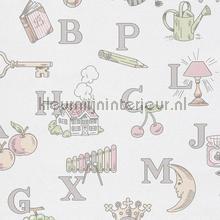 Alphabet behang Hookedonwalls Baby Peuter