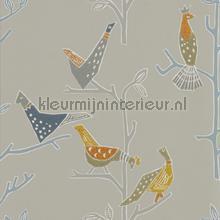 passaro cinnamon slate papier peint Scion Japandi 111925