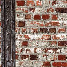 Behang muur motief