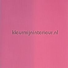 Fijne reliefvinyl brede streep roze behang Kleurmijninterieur behang