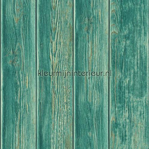 Gebeitste planken carta da parati J86804 legno Dutch Wallcoverings