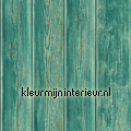 Gebeitste planken Kaleidoscope dutch wallcoverings
