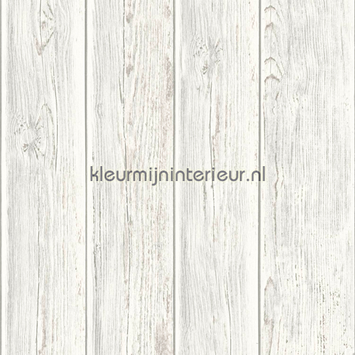 Gebeitste planken behang J86807 hout Dutch Wallcoverings
