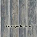 Gebeitste planken aanbieding behang motieven