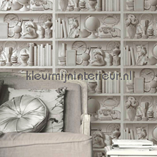 Open kast tapet Dutch Wallcoverings nostalgisk