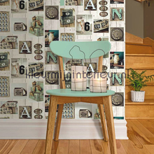 Dutch Wallcoverings Kaleidoscope papel de parede