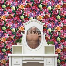 Boeket rozen behang Dutch Wallcoverings fantasie