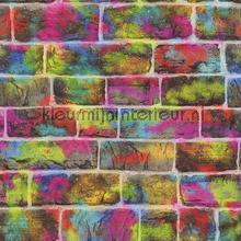 Graffiti stenen combi behang Rasch Kids and Teens II 291407