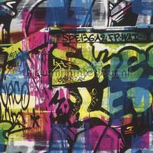 Street graffiti behang Rasch Kids and Teens II 291506