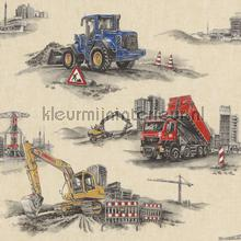 Bulldozers op de bouw tapeten Rasch Kids and Teens II 293500