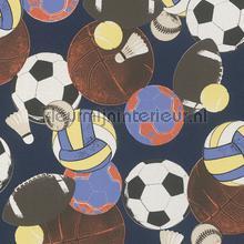 Sport ballen behang Rasch Kids and Teens II 502947