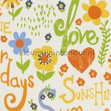 Summer sunshine behang Rasch meisjes
