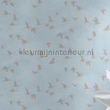 Vliegende vogels behang Rasch Kids and Teens II 503357