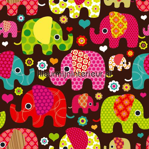 Olifanten behang fototapeten Olifanten-behang-2015 Kids-collection Kleurmijninterieur