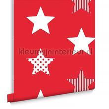 Superstar Red behang Noordwand jongens