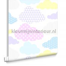 Marshmallow Clouds behang Noordwand Baby Peuter