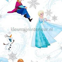 Frozen Anna Elsa and Olaf wallcovering Noordwand urban
