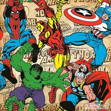 Marvel Comics Superheroes behang Noordwand jongens