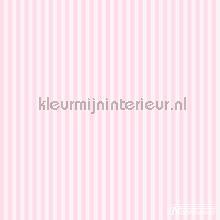 Classic Pink Stripe behang Noordwand meisjes