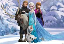 Fotobehang Frozen Noordwand kinderkamer meisjes